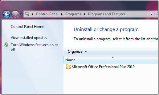 Uninstall Microsoft® Office 2010 with Tools