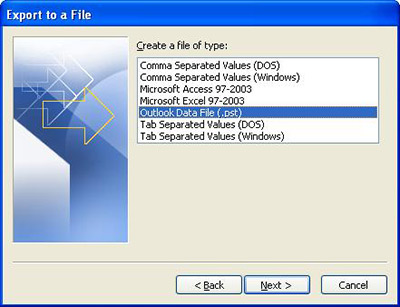 Ways to backup Microsoft Office 2010